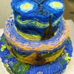 When Van Gogh meets cake