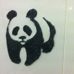 Panda On The Wall